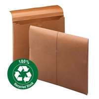 "Smead 100% Recycled Redrope Wallet, 2"" Exp, Redrope Box of 10 (77170)"