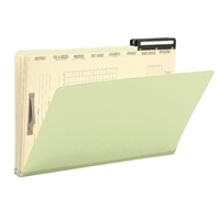 Smead 25pt Pressboard Mortgage Folders, Legal Size, 8 Dividers, 10/Bx (78208)