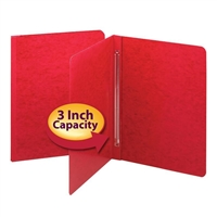 Smead PressGuard Report Cover, Letter Size, Bright Red, 25/Box (81252)