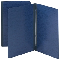 Smead Dark Blue Pressboard Report Covers, Side Fastener, 25/Box (81351)