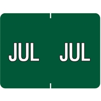 Datafile Month Label July 15/16 x 1-5/8 256/Pack