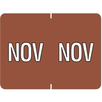 Datafile Month Label November 15/16 x 1-5/8 256/Pack