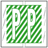 Col R Tab 12116 Label Letter P 100/Pack
