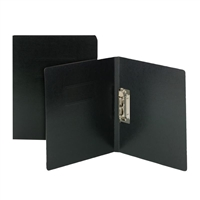 Smead Report Cover with Punchless Fastener, Letter Size, Black (80350)