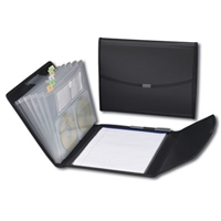 Smead Poly Pro Series II Pad Folio with Expanding File (85830)