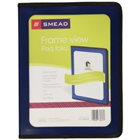 Smead Poly View Front Pad Folios (85848)