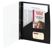 Smead Clear Front Poly Report Covers with Fasteners (86010)
