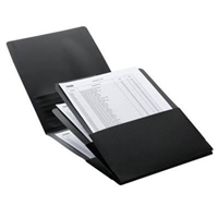 Smead Organized Up Poly Stackit Organizers, Letter Size, Black, 2/Pk (87005)