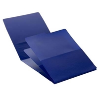 Smead Organized Up Poly Stackit Organizers, Letter Size, Dark Blue, 2/Pk (87006)