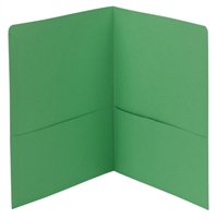 Smead Two-Pocket Heavyweight Folder, Letter Size, Green (87855)