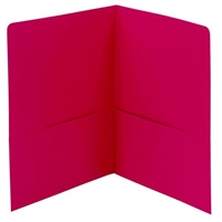 Smead Two-Pocket Heavyweight Folder, Letter Size, Red (87859)