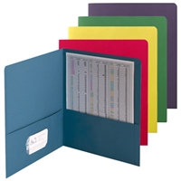 Smead Economy Two-Pocket Folders, Letter Size, Assorted Colors, 50 per CTN (87863)