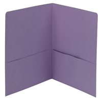 Smead Two-Pocket Heavyweight Folder, Letter Size, Lavender (87865)