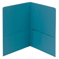 Smead Two-Pocket Heavyweight Folder, Letter Size, Teal (87867)