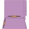 "Colored Folders, End Tab, Letter Size, 3/4"" Exp, Fastener Pos 3/5, 14pt Lavender, 50/Box"