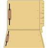 "Colored Folders, End Tab, Letter Size, 3/4"" Exp, Fastener Pos 1/3, 14pt Buff, 50/Box"