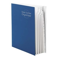 Smead Desk File/Sorter, Daily (1-31) Dividers, Letter, Blue (89294)