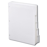 Smead Three-Ring Binder Index Dividers 1/5-Cut Tabs (89415)
