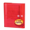 "Smead Poly Envelope 1-1/4"" Expansion Red 5-Pack (89527)"