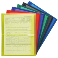 Smead Side Load Poly Envelopes with Hook-and-Loop Closure (89669)