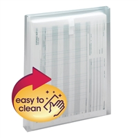 "Smead Poly Envelope 1-1/4"" Expansion Clear 5-Pack (89670)"