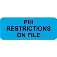 PHI Restrictions, Light Blue (A1001)