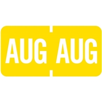 Tab 1279 Month Label August | Advanced Filing Concepts