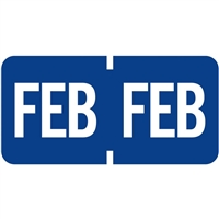 Tab 1279 Month Label February | Advanced Filing Concepts