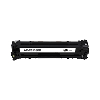 Black Reman Toner, 2.3K Yield, OEM Cartridge 116K
