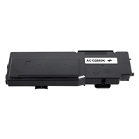 Replacement Black Toner Cartridge for Dell 593-BBBU