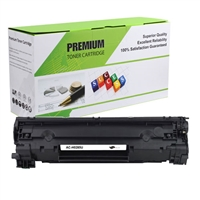 Black Compatible Toner, 1.6K Yield, CE285A (Universal with Canon 125)