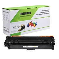 Yellow Compatible/Reman Toner, 7.3K Yield, CE742A