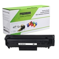 Black Compatible Toner, 3K Yield, Q2612A  Jumbo (Universal with Canon 104/103)