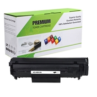 Black Compatible Toner, 2K Yield, Q2612A (Universal with Canon 104/103)