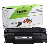 Replacement Black Toner Cartridge for HP Q7553A