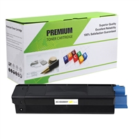 Yellow Compatible Toner, 3K Yield, 43034801
