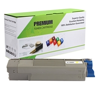 Yellow Compatible Toner, 5K Yield, 43324401