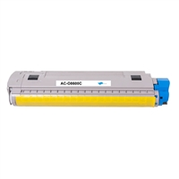Replacement Cyan Toner Cartridge for OKI 43487735