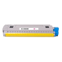 Replacement Magenta Toner Cartridge for OKI 43487734