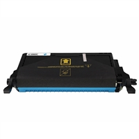 Replacement Cyan Toner Cartridge for Samsung CLP-C660B/XAA