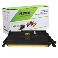 Yellow Compatible/Reman Toner, 5K Yield, CLP-Y660B/XAA
