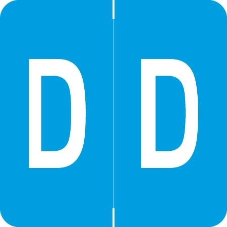 Barkley Alpha Labels Letter D Light Blue ADPK-D