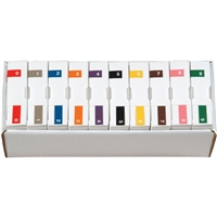 Ames L-A-00134RB Label Set 0-9 (1000/Roll)