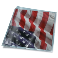 Polyester Sleeve with Fold Flap (8x10) 25/Pk