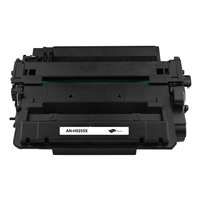 Black Compatible Toner, 15K Yield, CE255X Jumbo (Universal with Canon GPR-40H)