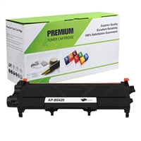 Black Compatible Toner, 1.2K Yield, OEM TN-420