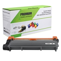 Black Compatible Toner, 5.2K Yield, OEM TN-660 Jumbo