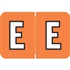Amerifile ARAM-Series Label, Letter E