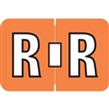 Amerifile ARAM-Series Label, Letter R