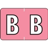 Barkley Alpha Label Packs Letter B Pink BRPK-B